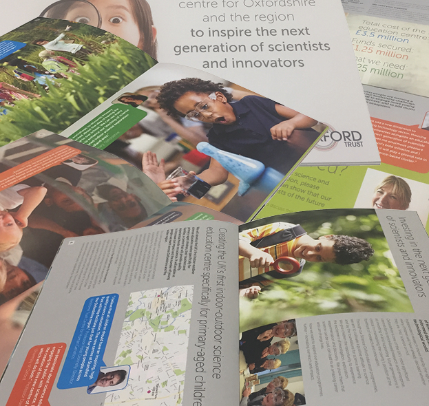 The Oxford Trust<p>Design and print of Appeals brochure
